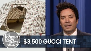 Pentagon Investigating UFO, Gucci's $3500 Tent | The Tonight Show Starring Jimmy Fallon