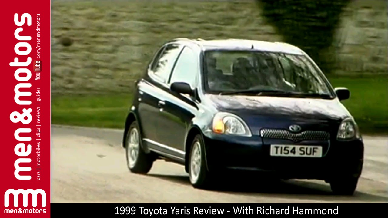 1999 toyota yaris review with richard hammond doovi. Black Bedroom Furniture Sets. Home Design Ideas