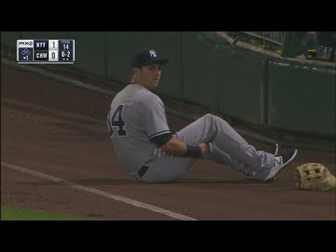 Yankees rookie Dustin Fowler suffers serious leg injury in MLB debut