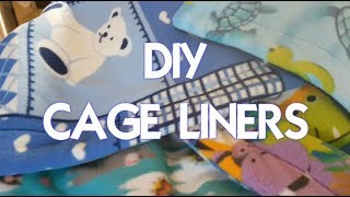DIY Cage Liners! *NEW*