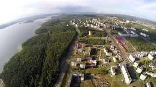 Панорама Усть-Илимска с высоты 320м.(Музыка: LukHash - THE OTHER SIDE., 2015-08-01T12:47:29.000Z)