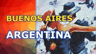 видео: Буэнос Айрес, Аргентина. Прилёт, такси, отель, прогулка по горорду, общение с местными. День 1