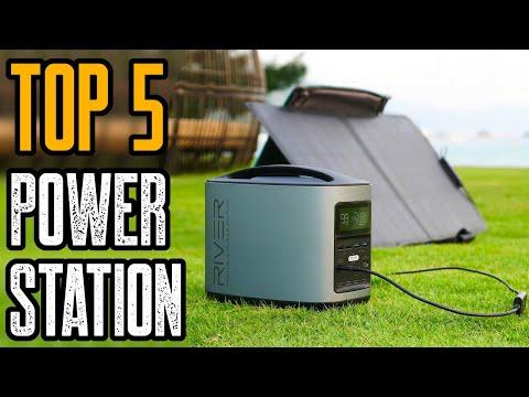 Top 10 Best Solar Generators 2021  Best Portable Power Station 2021!