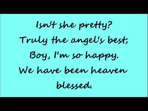 Glee Isn't She Lovely with lyrics