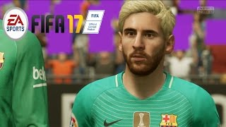 EA- FIFA 17 GAMEPLAY - FC BARCELONA vs Real Madrid (No Commentary)  [ PS4 / XBOX ONE]