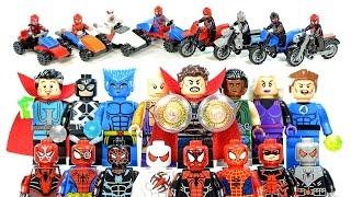 Spider-Man Unlimited Doctor Strange X-Men & Fantastic Four Unofficial LEGO Minifigures