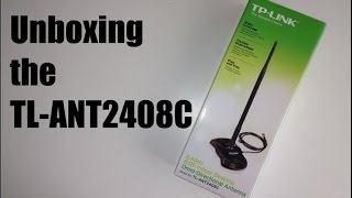 Unboxing TP LINK Omni Directional Antenna TL ANT2408C