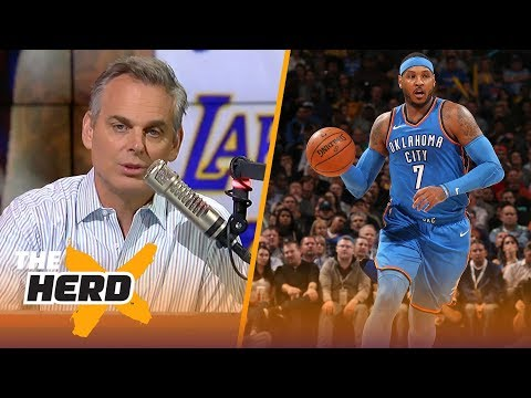 Colin on reports Houston is 'determined' to get Melo, Philly's pursuit of LeBron | NBA | THE HERD