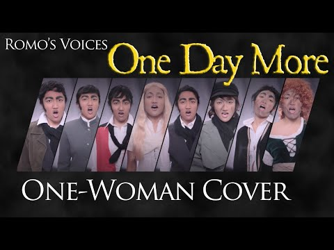 """Romo's Voices: """"One Day More"""" One-Woman Cover - Les Miserables Broadway Musical"""