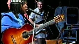 MIlton Nascimento e Gilberto Gil - Tempo Rei ao vivo 2001.