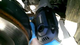 Kobalt 8 Amp Corded Electric Impact Wrench Test