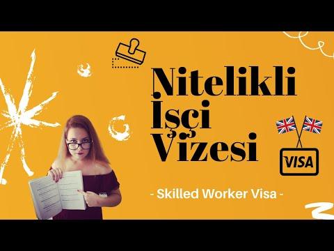 Birleşik Krallık - Nitelikli İşçi Vizesi | Skilled Worker Visa UK | İngiltere'de Yaşam | Mrs. Seda