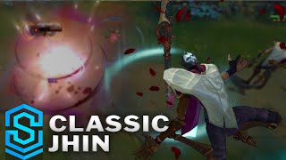 Classic Jhin, the Virtuoso - Ability Preview - League of Legends