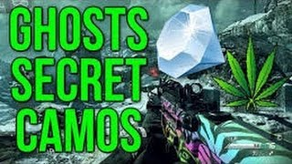 Call of Duty Ghosts Camuflaje secreto Diamante(2 Chains)