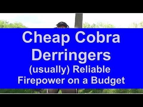Cheap Guns: Cobra Derringers - Pocket CCW on the Cheap