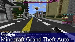 Spotlight: Grand Theft Auto in Minecraft
