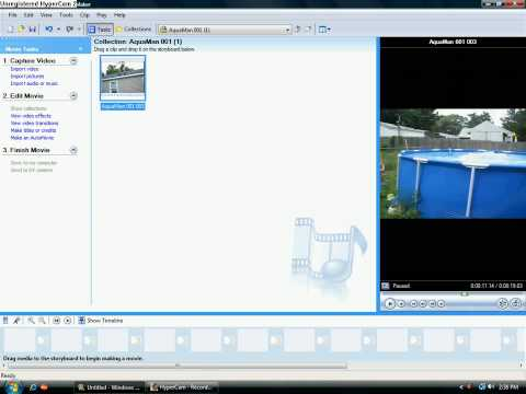 How To Reverse A Video In Windows Movie Maker EASY