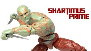 Marvel Legends Drax Guardians of the Galaxy Groot BAF Wave Action Figure Review