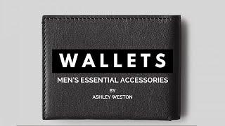 Men's Wallets - Bi-Fold, Card Case, Phone - Men's Essential Accessories - Slim, Leather, Best