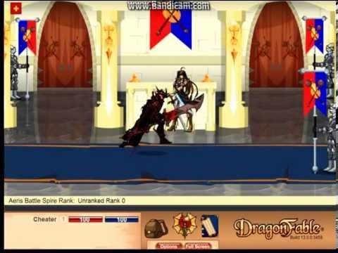 DragonFable: Doom Knight Class
