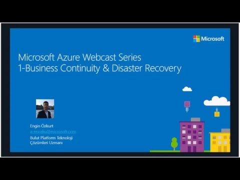 Microsoft Azure  1-Business Continuity & Disaster Recovery