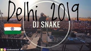 DJ SNAKE- SunBurn Arena @Live In Delhi(Aero City) 2019 | Best Crowd Control Ever