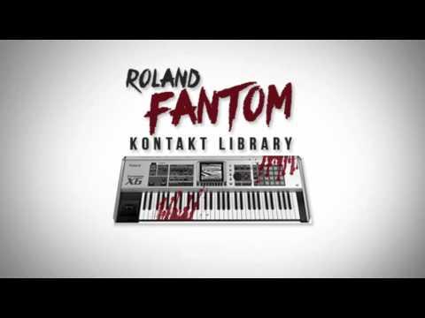 2017 Roland Fantom Trap Kontakt Library [FREE DOWNLOAD]