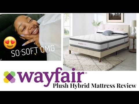 WAYFAIR FOAM MATTRESS AND BED FRAME UNBOXING AND REVIEW | 2020