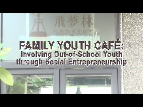 Family Youth Café: Involving Out-of-School Youth through Soc