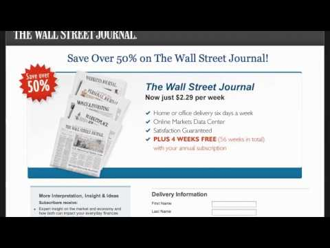 Newspaper Coupon Code - How to use Promo Codes and Coupons for your Favorite Newspaper Subscriptions