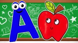ABC Song Learn English Alphabet for Children with Nursery Rhymes   Learn Colors & Phonics Songs