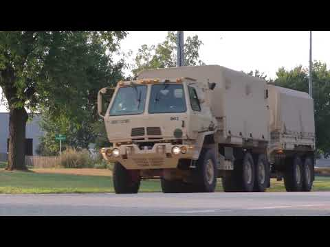 Wisconsin National Guard Irma B-Roll