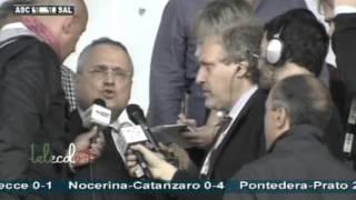 Intervista al presidente Lotito post Ascoli Salernitana 1-1 13/10/2013