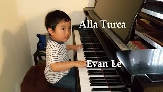"""Alla Turca"" by 4-Year-Old Evan Le"