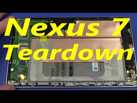 EEVblog #321 - Google Nexus 7 Tablet Teardown