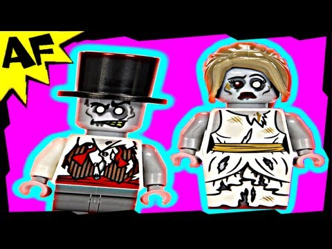 ZOMBIES Lego Monster Fighters Set 9465 Animated Building Review