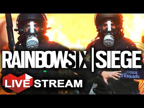 Rainbow Six Siege: Terrorist Hunt CHALLENGE! Realistic Multiplayer Gameplay | LIVE Stream (Part 17)