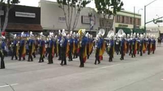2009 Alvarado Matadors at Temple City parade on 2-21-09