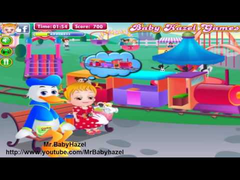 Baby Hazel in Disneyland video-Fun time for kids-Baby Games part 4