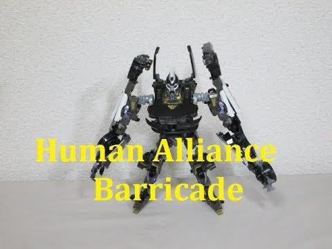 TF玩具レビューヒューマンアライアンス バリケード中の人は行方不明ですm__m/Transformers, Human Alliance Barricade