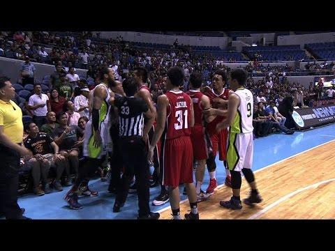 Globalport and Alaska Clash | Philippine Cup 2015-2016