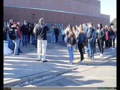 Hayward students join nationwide walkout over gun violence