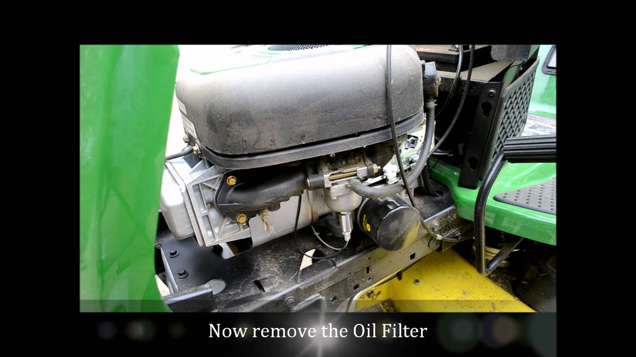 John Deere Riding Mower Oil Change Lawn Tractor La 105