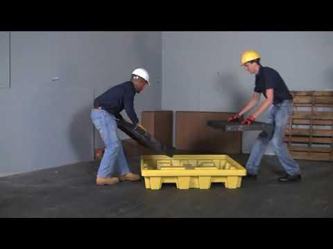 Bac de rétention pour fûts - Protection de l'environnement - Ultra Spill Pallet