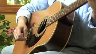 """lesson 7 from """"a beautiful way to start playing guitar: dadgad for complete beginners"""" from mel bay"""