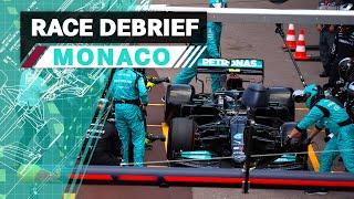 Wheel Nut Issues, Undercuts & More   2021 Monaco GP F1 Race Debrief