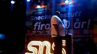 Biz Markie - Just A Friend live in Stockholm