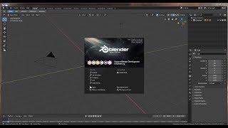 Blender 2.8 Первый взгляд