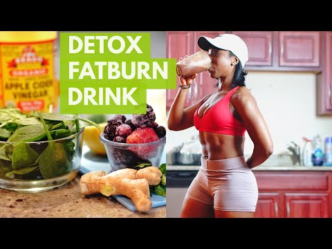 homemade-d3tox-fat-burn-drink-|-diy-|-health-hack