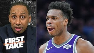 Kings are not scared to face Warriors in the NBA playoffs - Stephen A | First Take